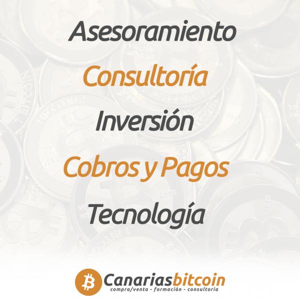 Áreas de consultoría blockchain y Bitcoin en España