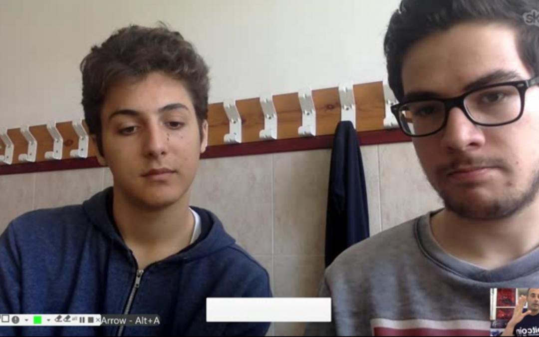 Entrevista para alumnos de bachillerato sobre Bitcoin