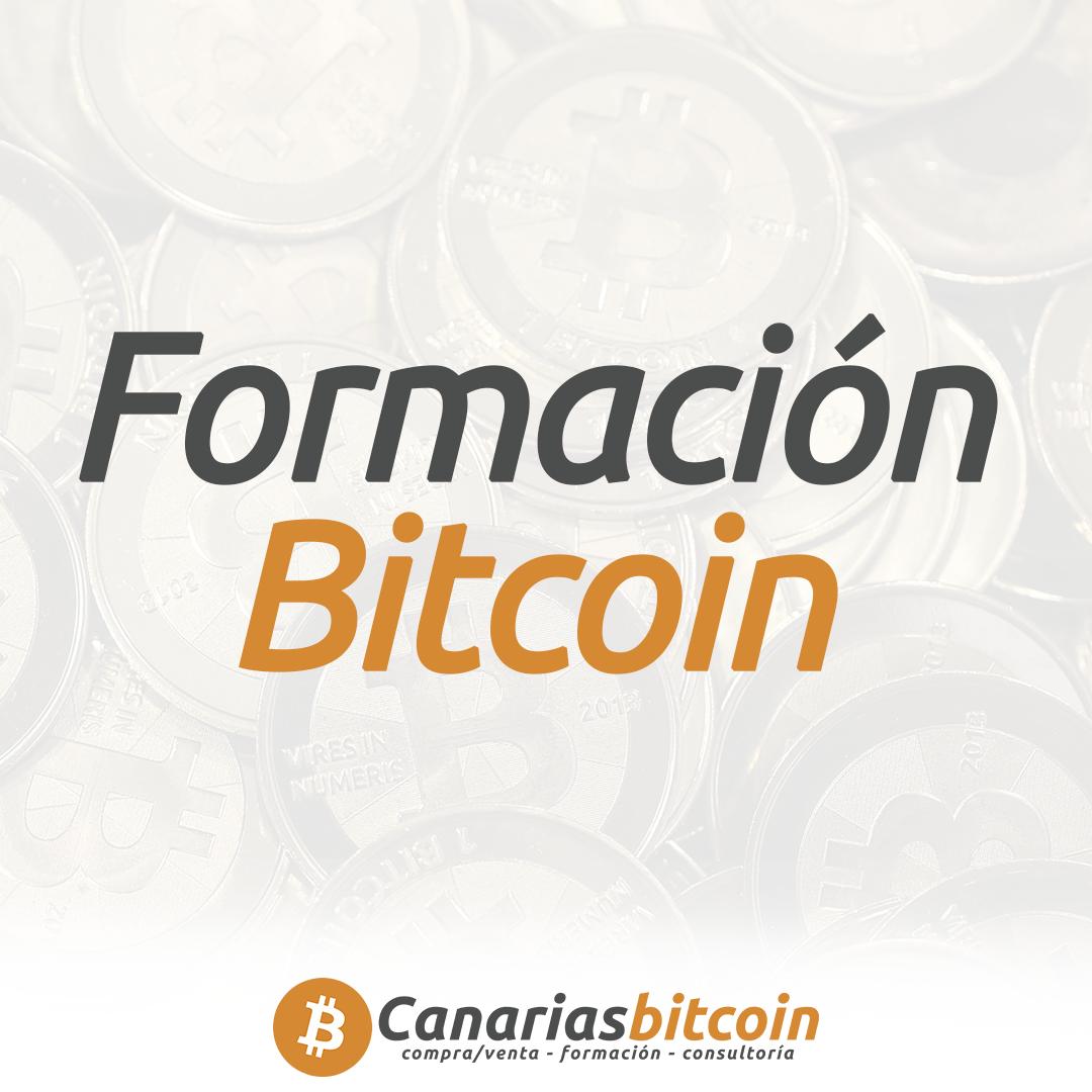 Formación y cursos bitcoin criptomonedas en Canarias