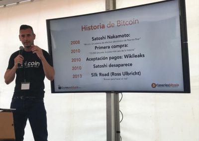Enrique Hernández Nuez CEO en Canarias Bitcoin habla sobre la historia de Bitcoin y las critomonedas