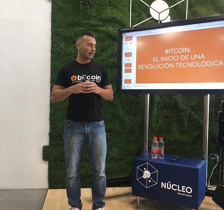Enrique Hernández Nuez ponente en evento sobre Blockchain «Núcleo Blockchain: Meeting Point»