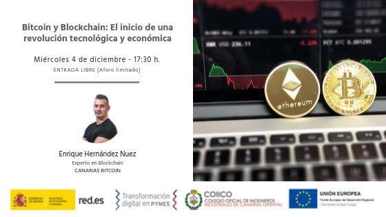 Seminario sobre Bitcoin y Blockchain para el ministerio de economia y empleo